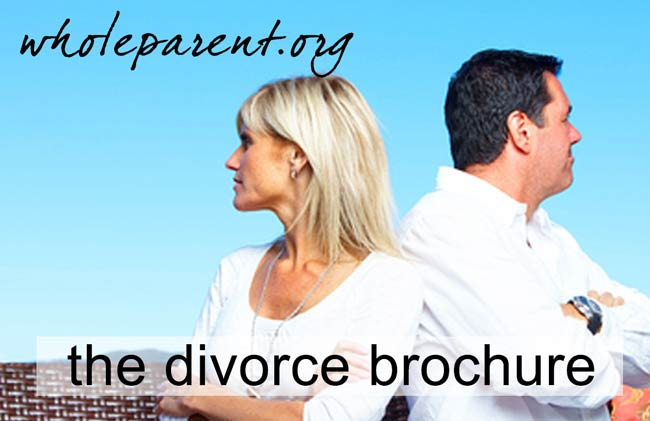 The Divorce Brochure : Hey Dads, How Does This Sound to You?