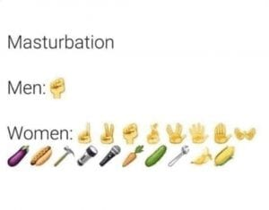 masturbation men vs women