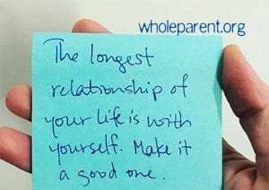 That Long-Term Relationship You Are Seeking… It's With Yourself