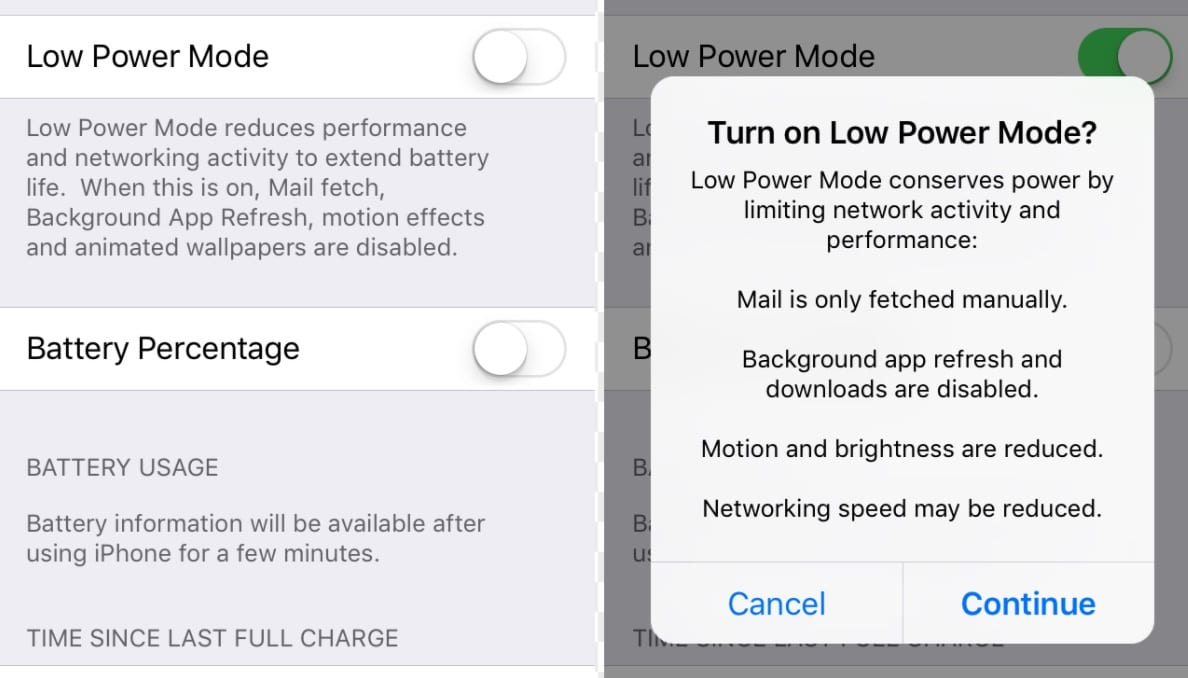 Low Power Mode: Managing Depression and Energy