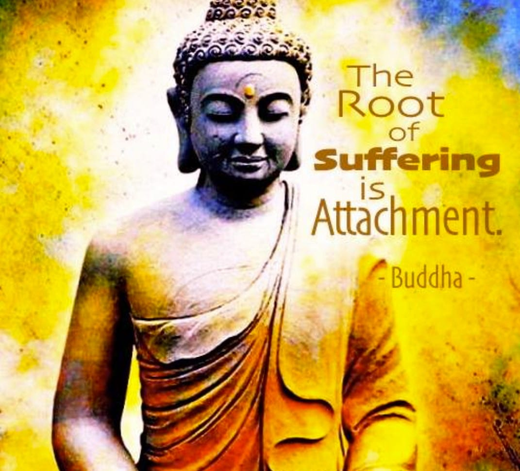 A Zen Retake on Love: Attachment is the Root of All Suffering